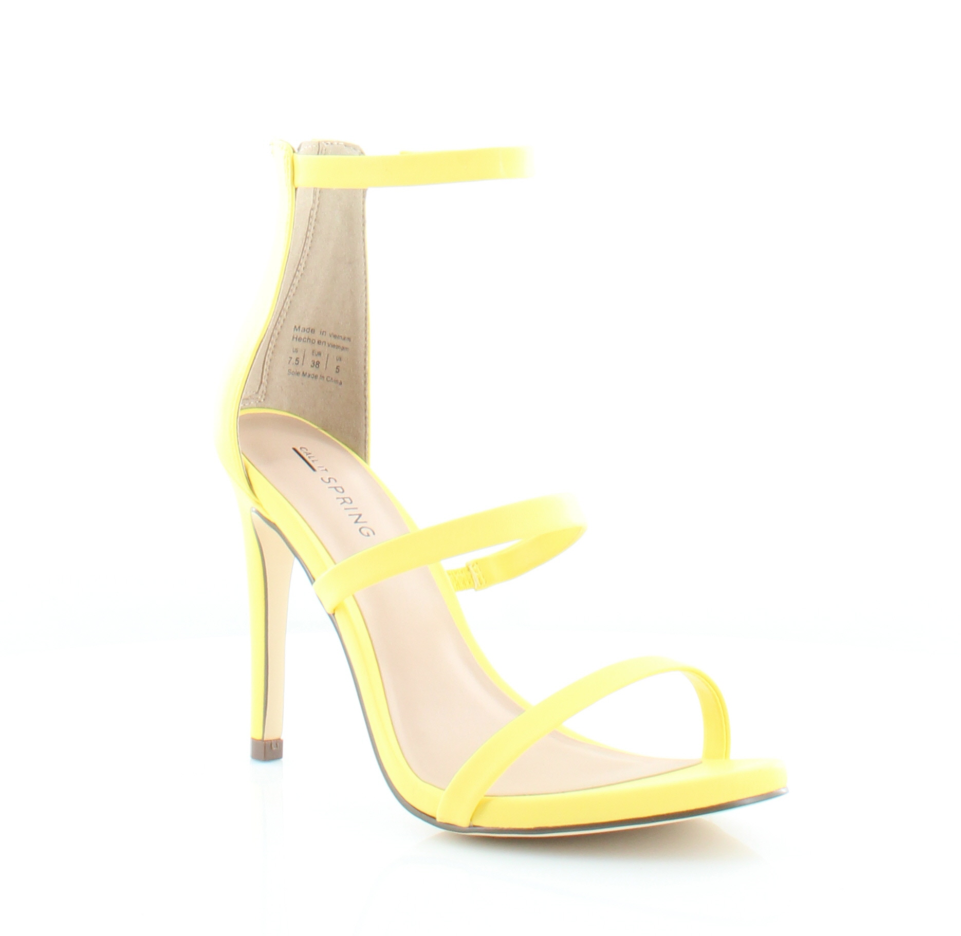 Call It Spring Call It Spring Astoelia Heels Yellow outlet choice from china cheap price outlet 100% guaranteed QbDgOt2QG