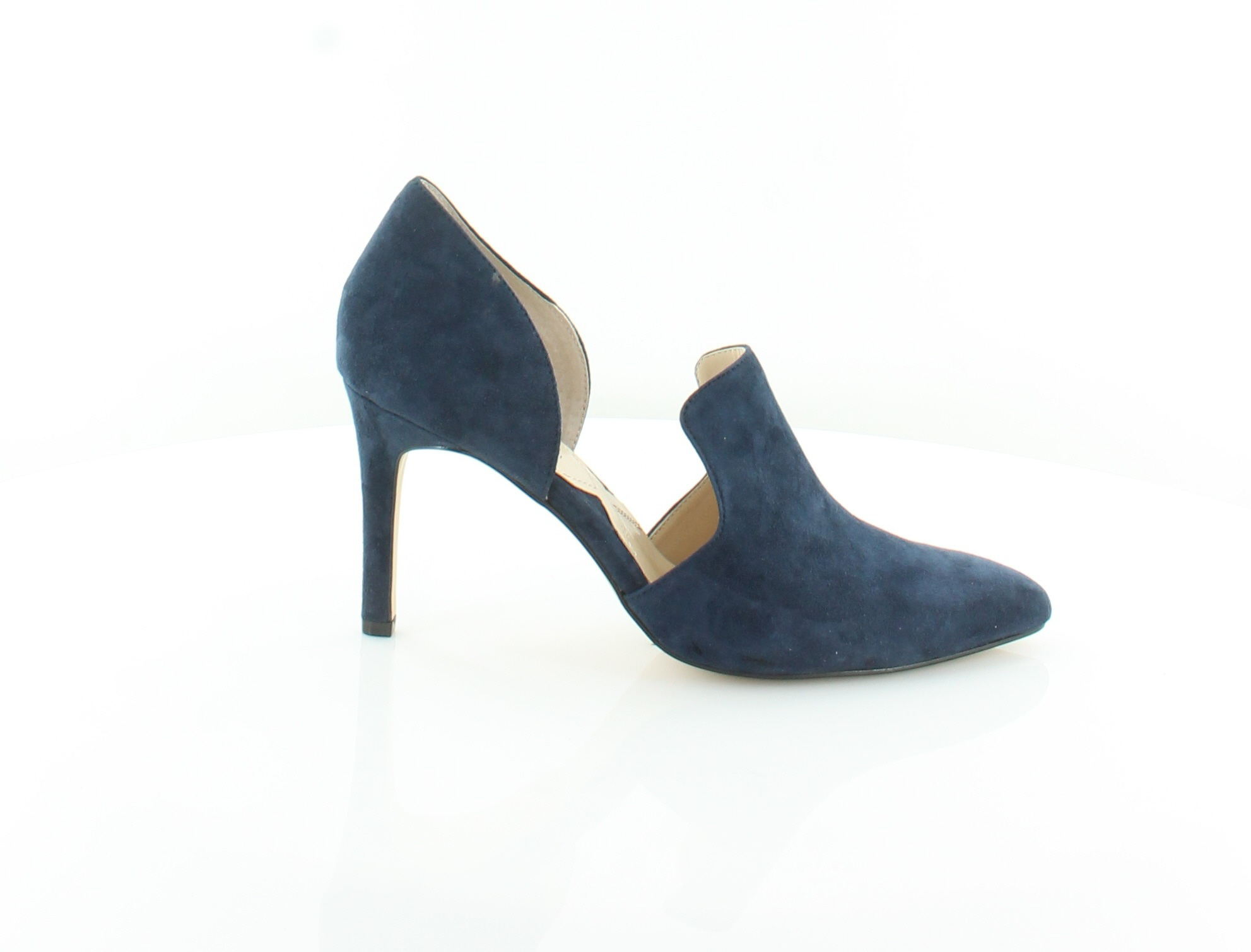 Adrienne Vittadini New Nicolo bluee Womens shoes Size 7.5 M Heels MSRP  110