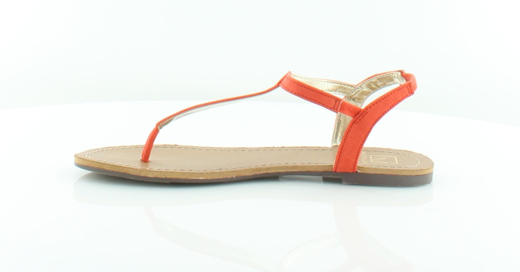 97cf3527700a Material girl sage orange womens shoes size sandals ebay jpg 1766x925 Sage  orange shoes
