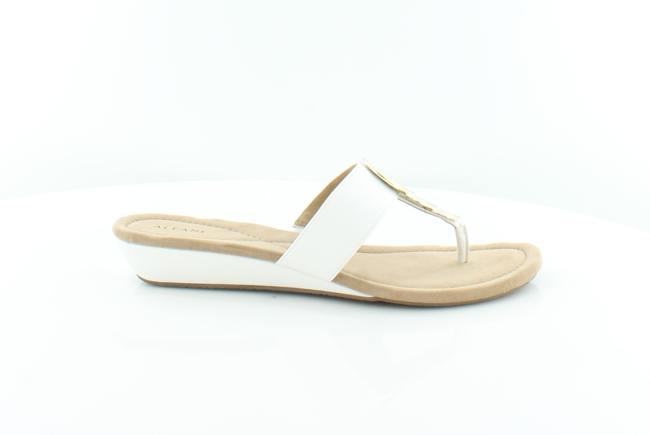 Man/Woman Alfani Fleurr Women's Sandals White Crazy appreciated price, Birmingham Won highly appreciated Crazy and widely trusted at home and abroad Various 0eae88