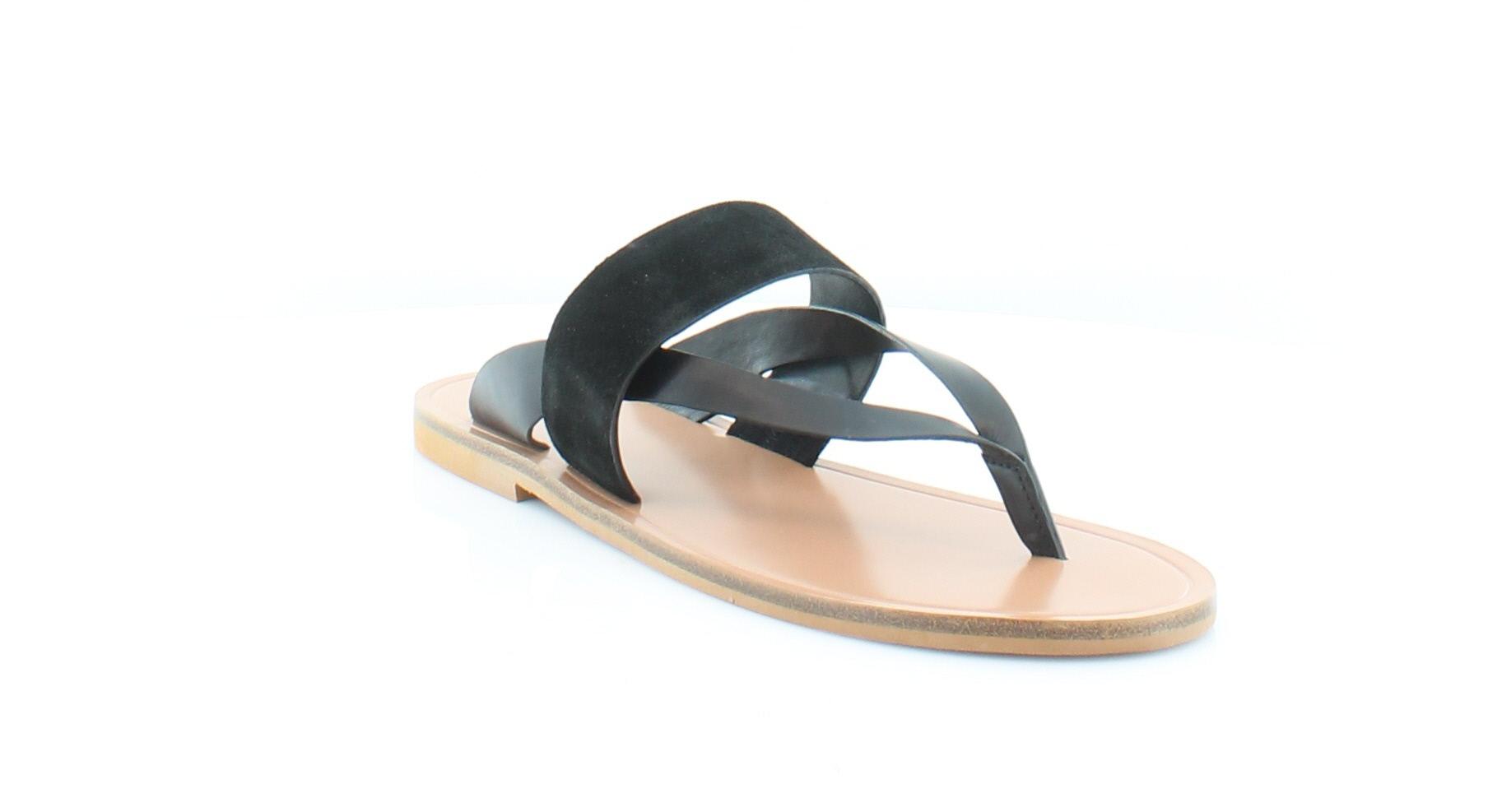 Vince. Tess Women's Sandals & Flip Flops Black Size 7 M