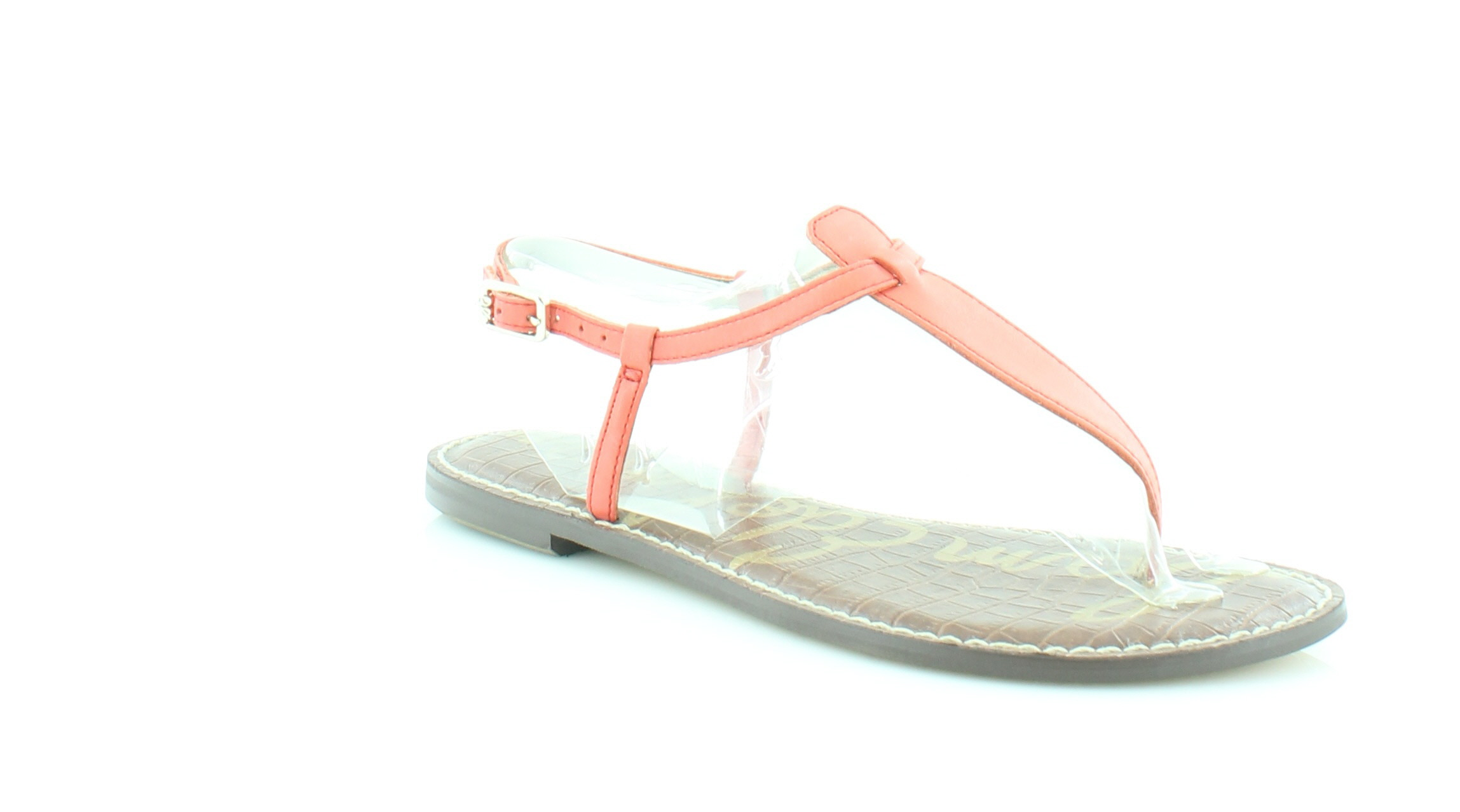 00d84f015161 Sam Edelman New Gigi Orange Womens Shoes Size 6 M Sandals MSRP  75 ...
