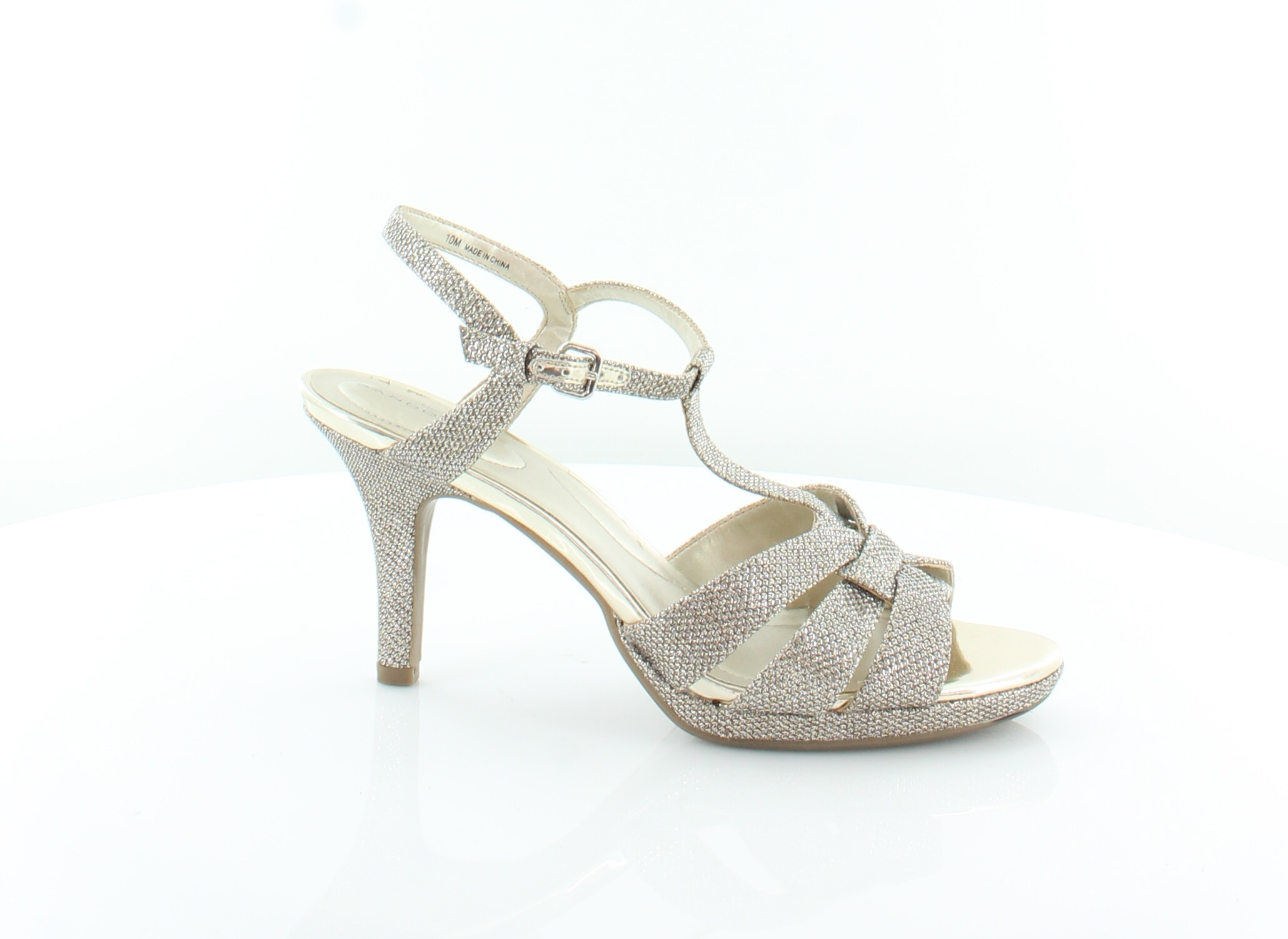 d6a38a413e Bandolino New Sarahi Gold Womens Shoes Size 10 M Sandals MSRP $69 ...