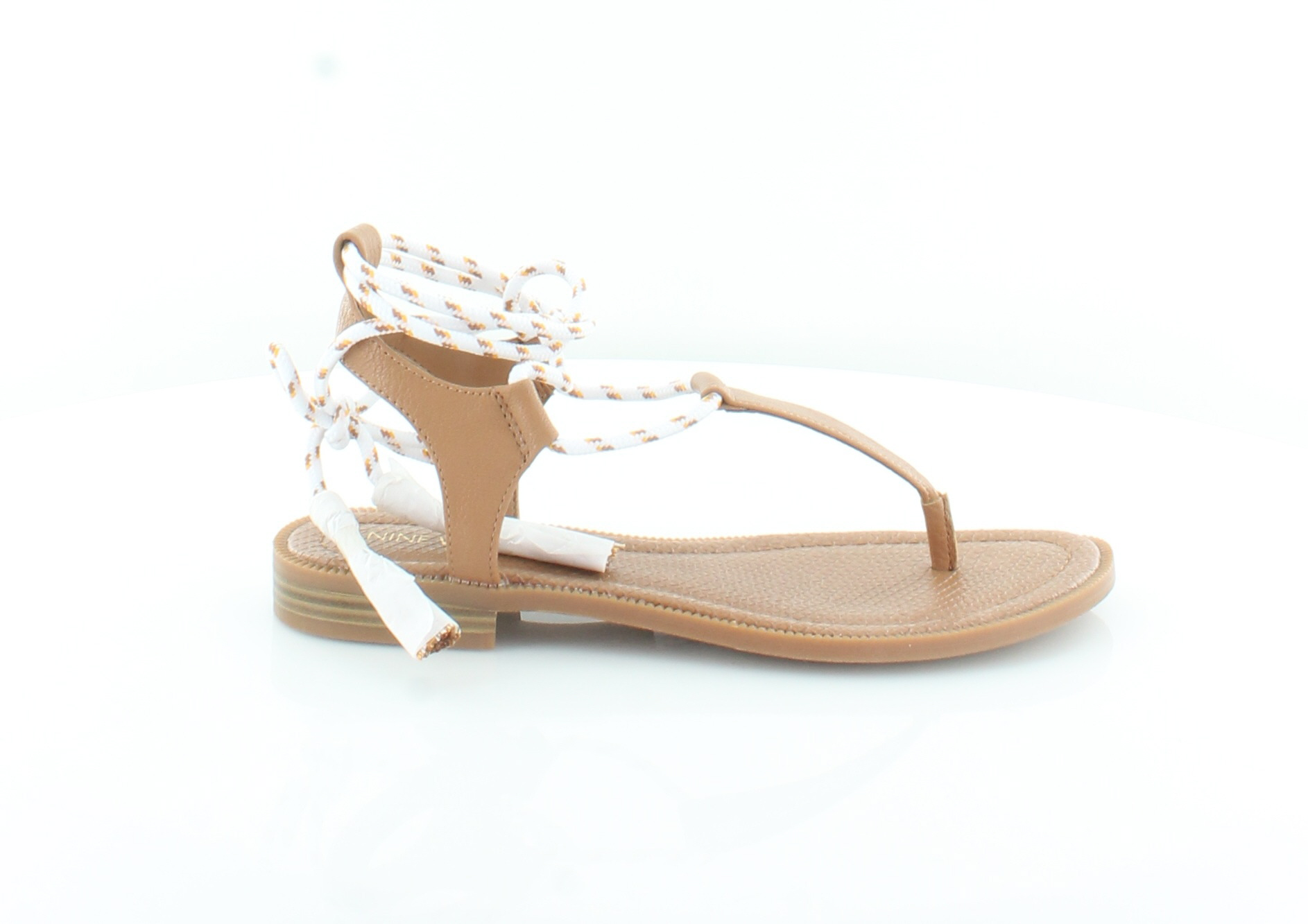 Nine West Gannon Women's Sandals Natural Dk Natural Sandals ee6375