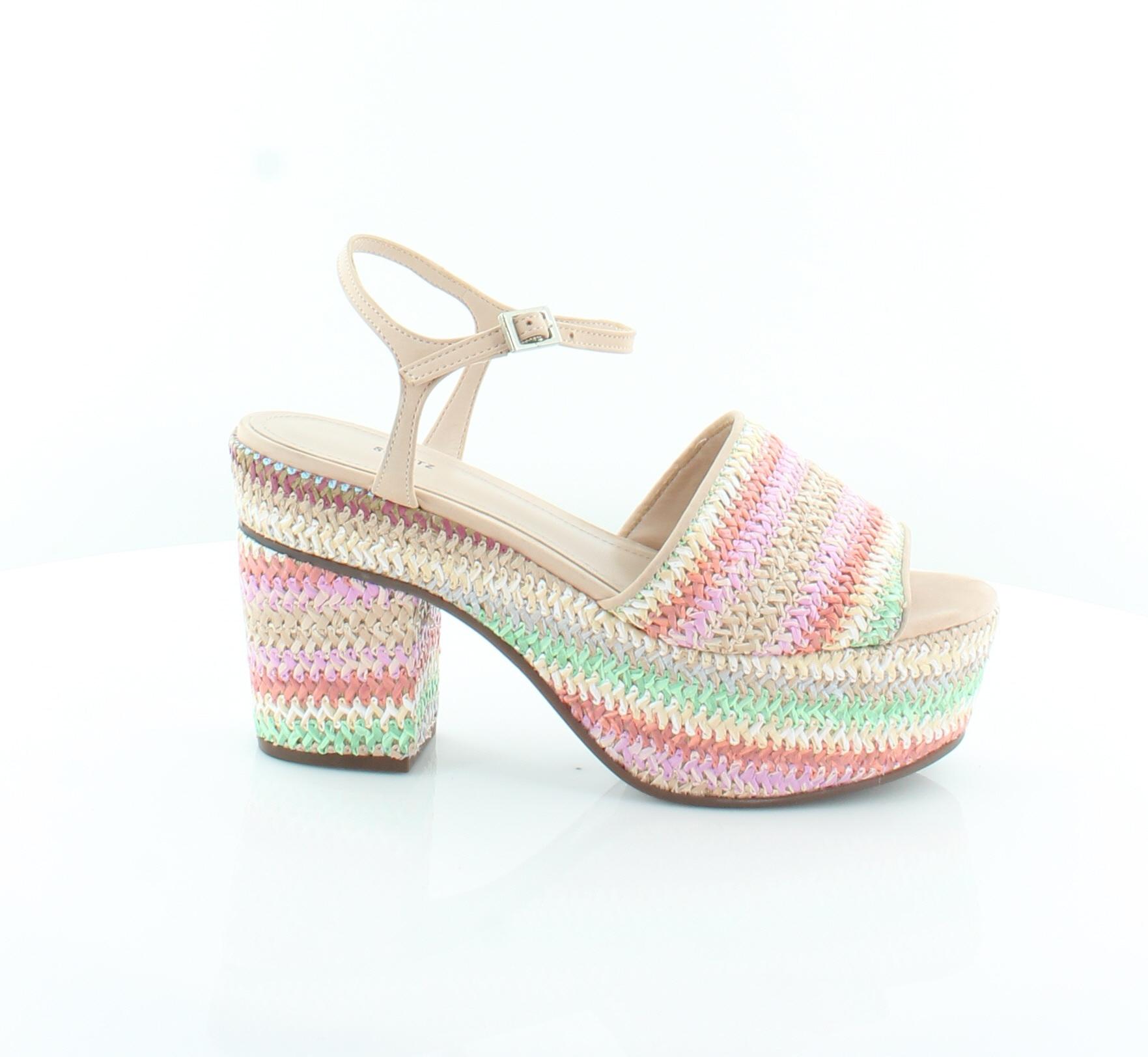 Schutz New Zuquiele Brown Womens shoes Size 8 M Sandals MSRP  240