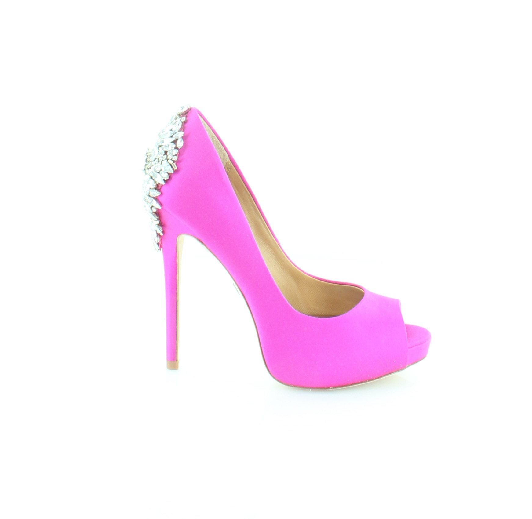 Badgley Mischka New Kiara Pink Donna Shoes Size 6 M Heels MSRP  245