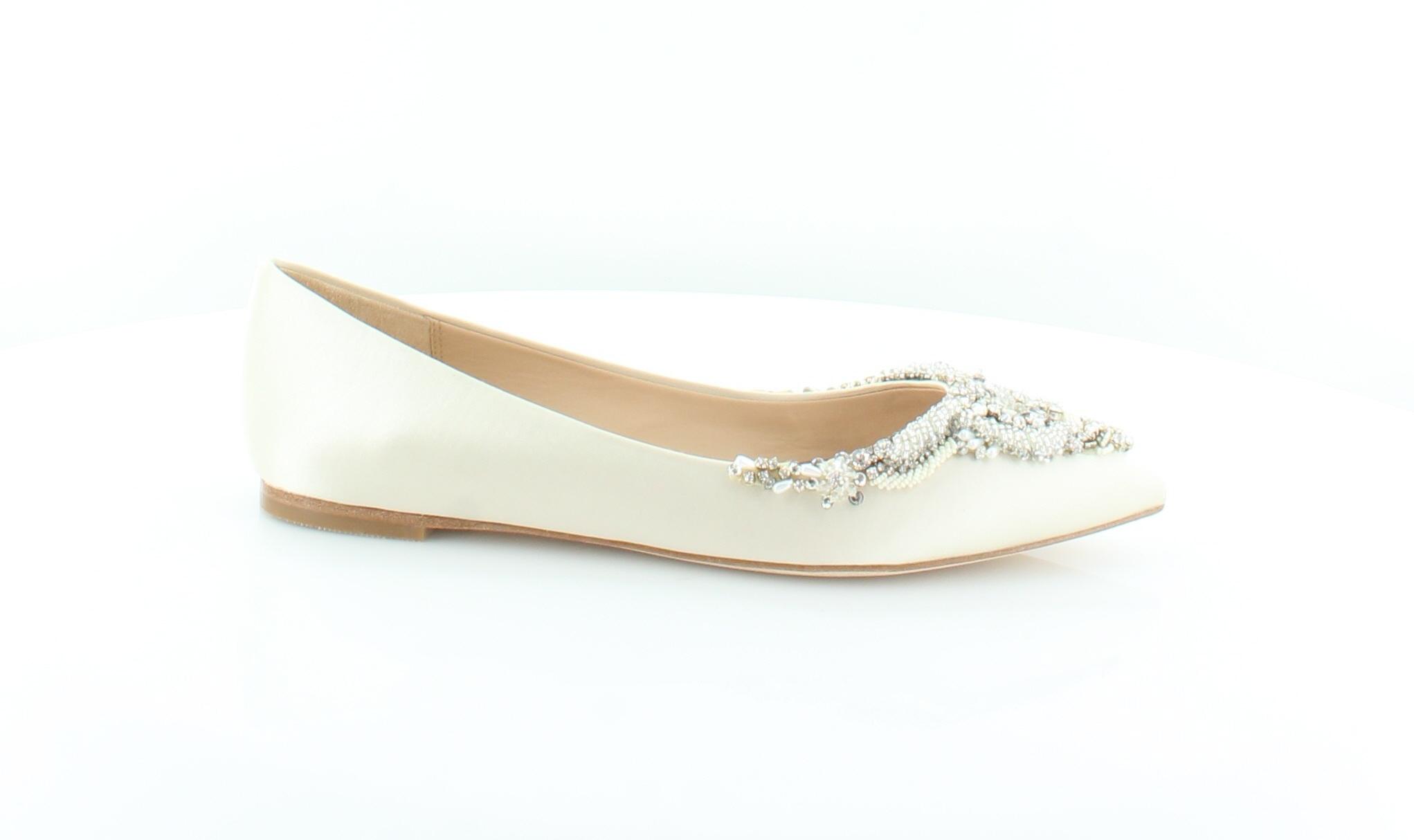 spedizione gratuita in tutto il mondo Badgley Mischka New Malena Ivory donna scarpe Dimensione 8.5 M M M Flats MSRP  225  outlet online economico