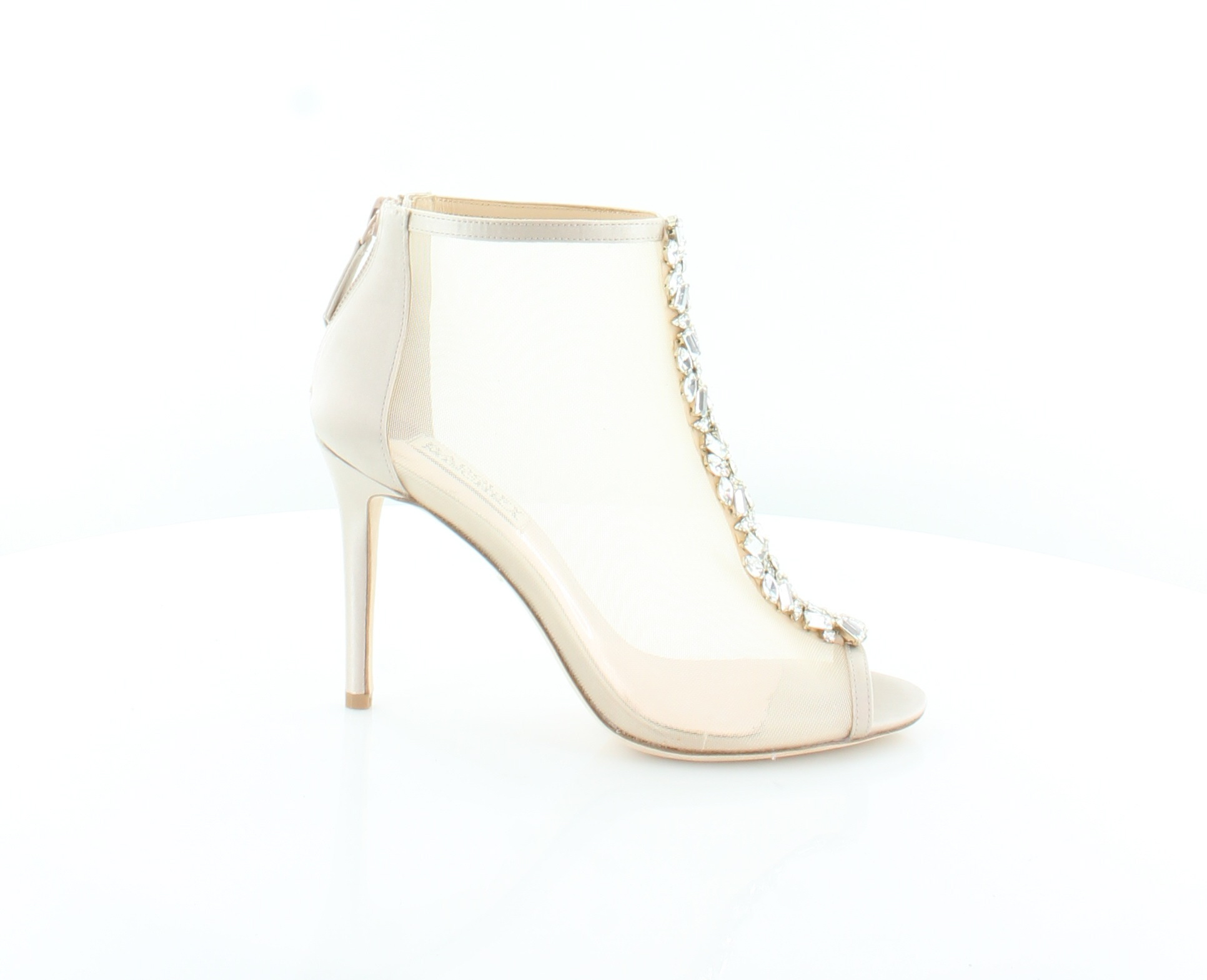 conveniente Badgley Mischka New Moss Beige donna scarpe scarpe scarpe Dimensione 6.5 M Heels MSRP  225  consegna diretta e rapida in fabbrica