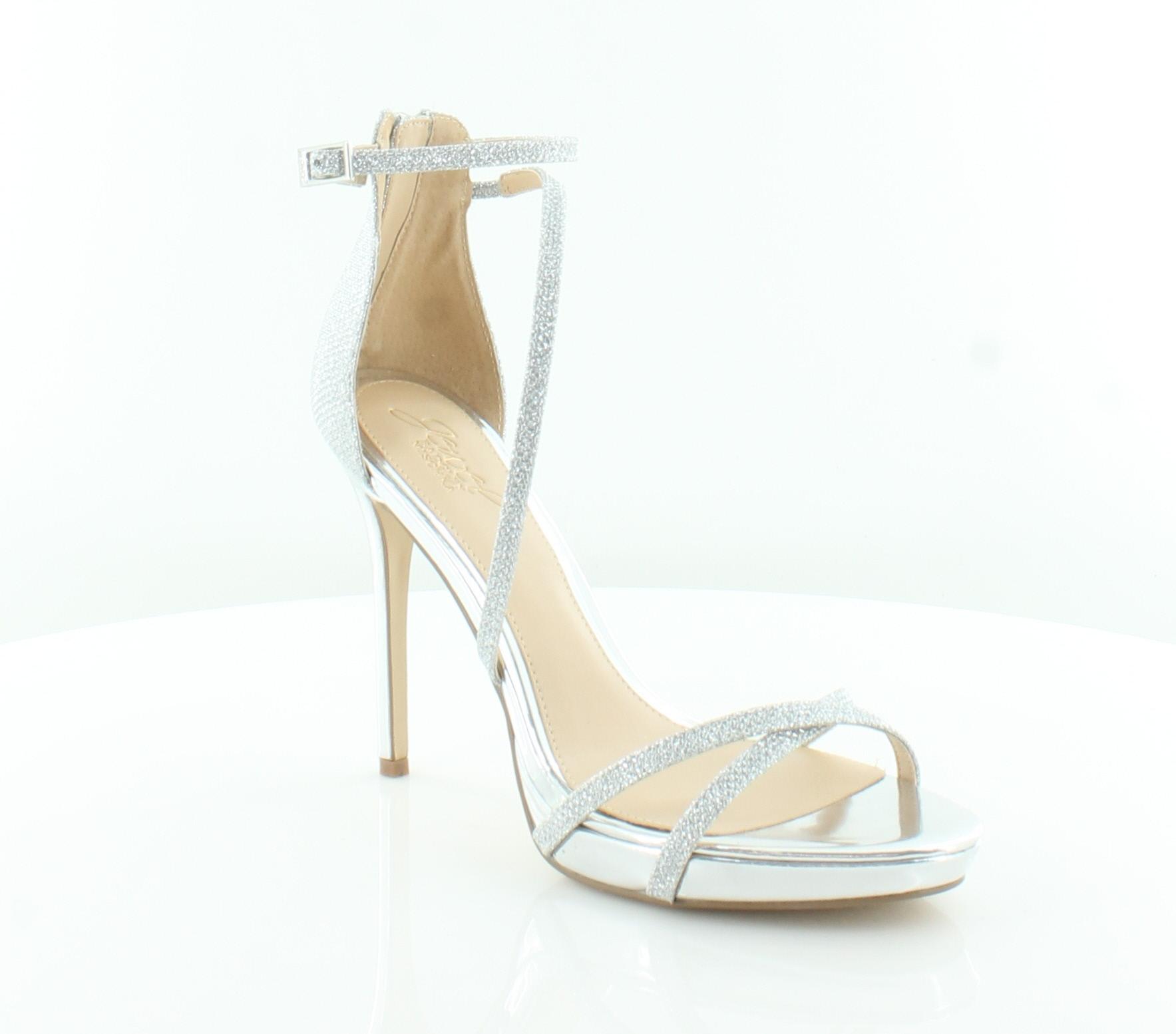 5e156dce5e2e Jewel Badgley Mischka New Galen Metallic Womens Shoes Size 9 M Heels ...