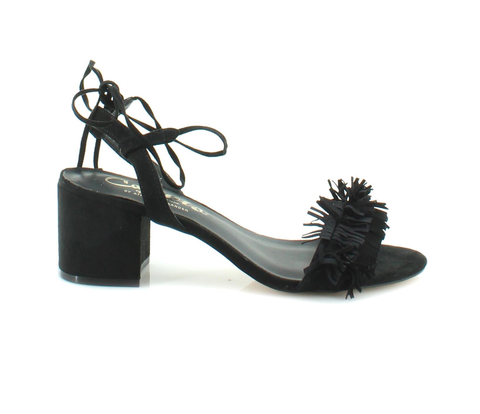 763f8faeb584 Image is loading Callisto-Melz-Women-039-s-Sandals-Black