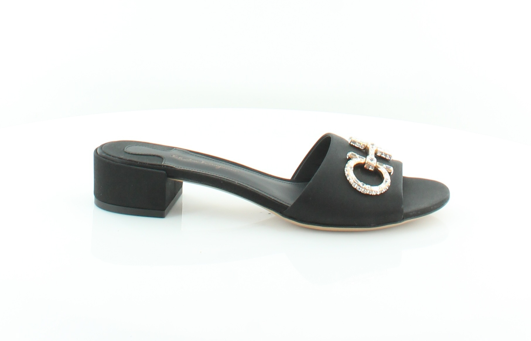 Salvatore Ferragamo New Lampio Black Womens shoes Size 8 M Sandals MSRP  695
