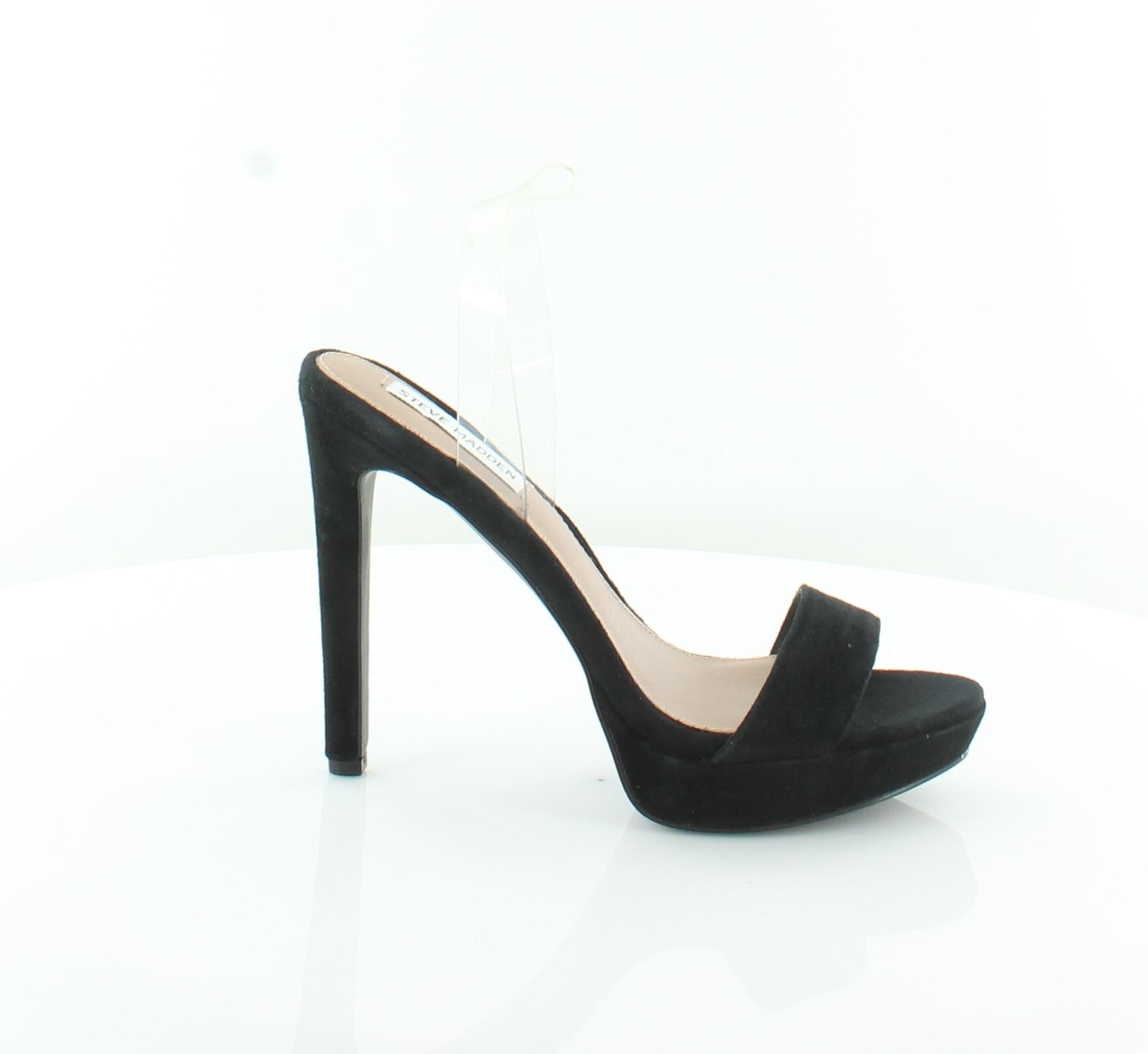 Steve Madden Cythiaa Cythiaa Cythiaa Nuevo Negro Sandalias De Mujer Zapatos Talla 8 M MSRP  109  barato y de alta calidad