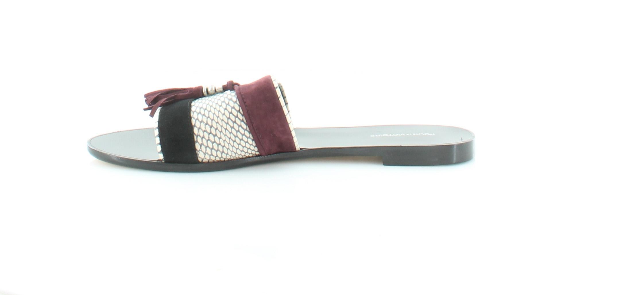 Pour La La La Victoire Lake Women's Sandals Sangria Multi c2dbac