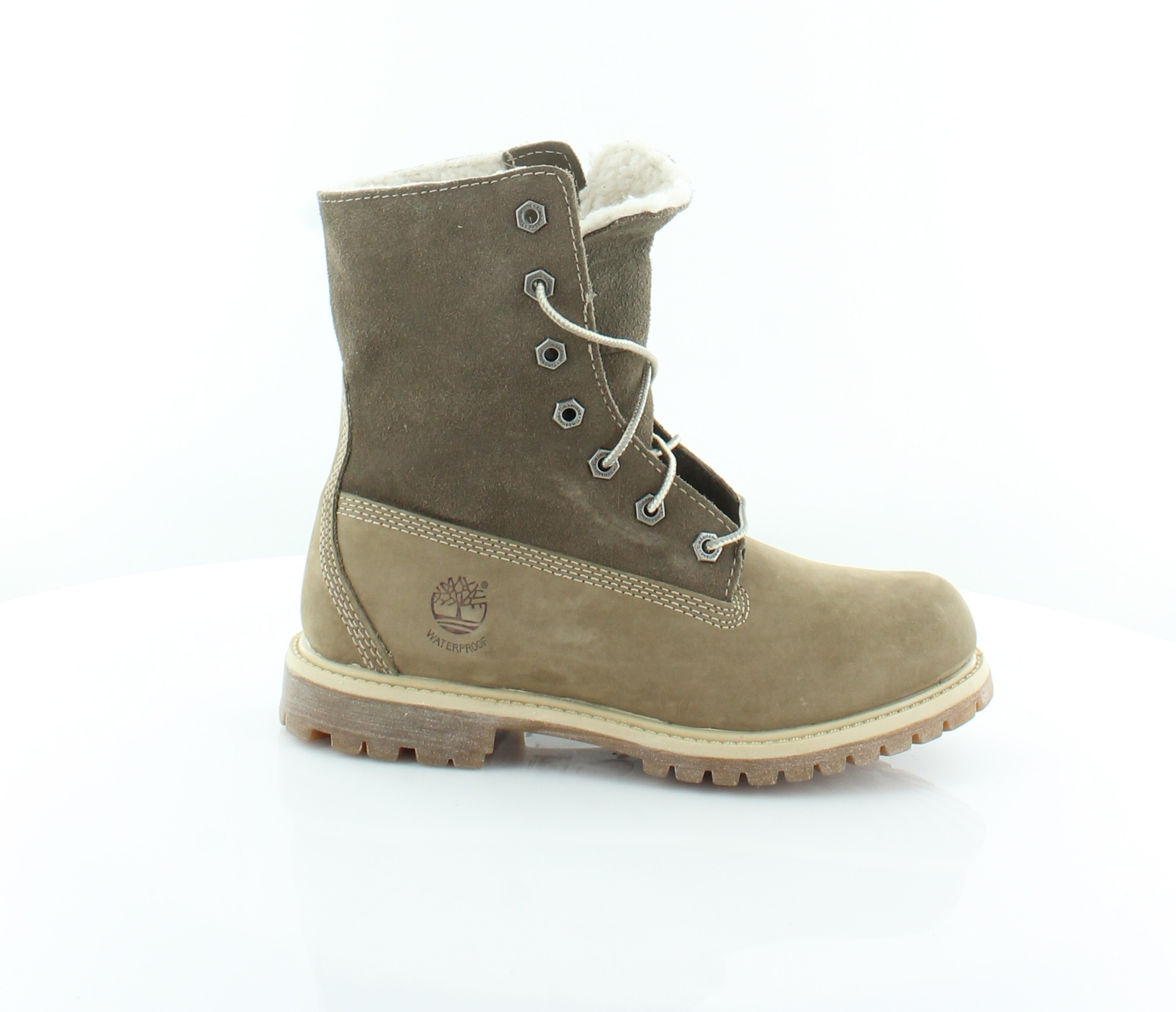 Timberland New Teddy Brown Womens Shoes Size 5.5 M Boots MSRP $165