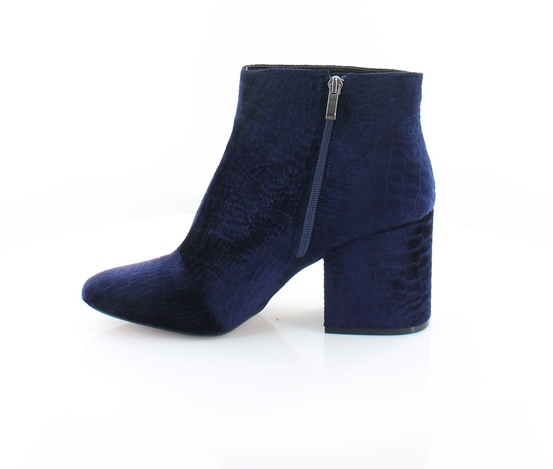 French-Connection-Dilyla-Women-039-s-Boots-Navy