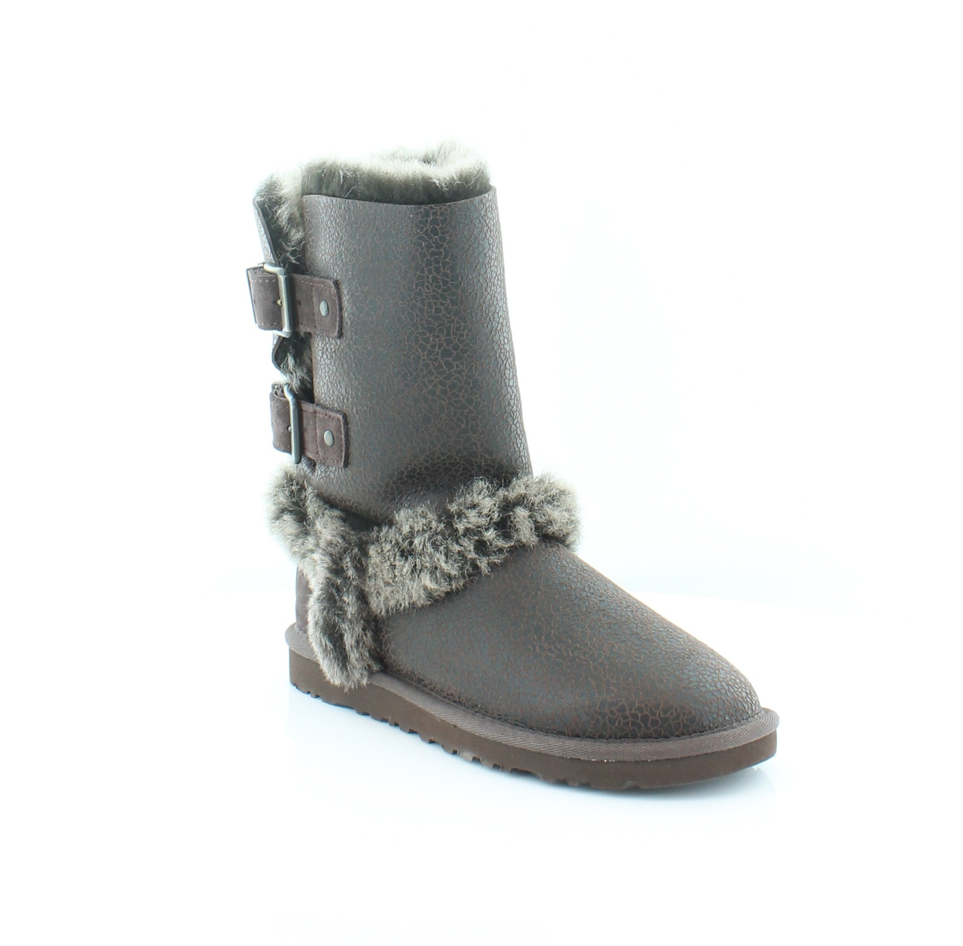 98ac939820f Details about UGG New Skylah Brown Womens Shoes Size 5 M Boots MSRP $240