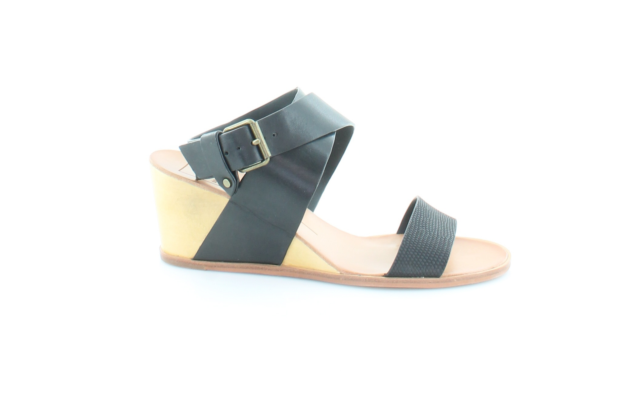 bf830d257 Dolce Vita New Lola Black Womens Shoes Size 8.5 M Sandals MSRP  140 ...