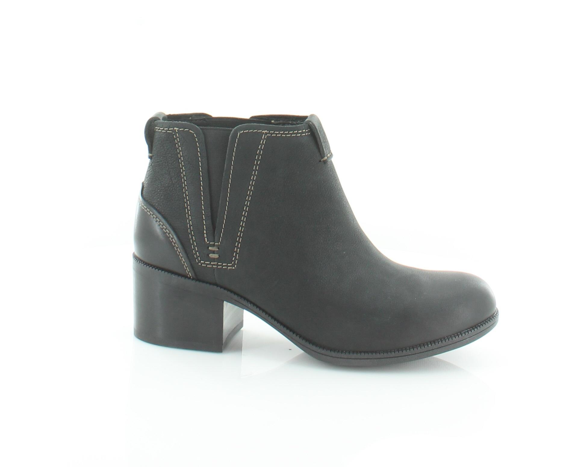 Clarks New Maypearl Daisy nero donna scarpe Dimensione 8.5 M stivali MSRP  155