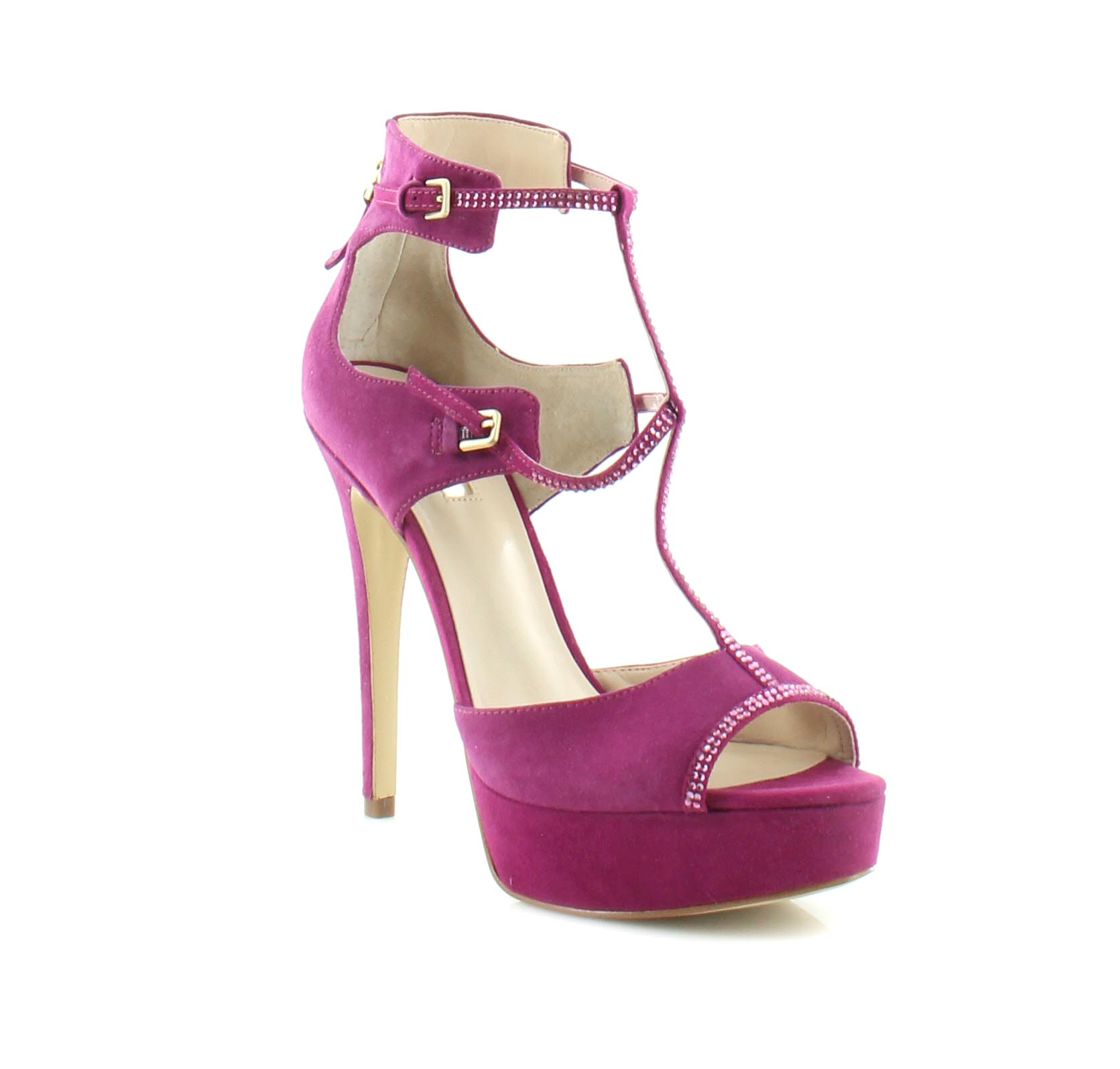 Womens Shoes GUESS Karlee Pink Suede