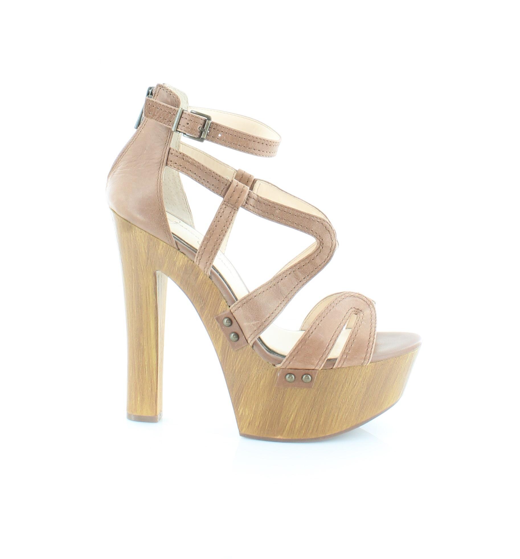 Jessica Simpson Dorrin Women's Heels Burnt Umber