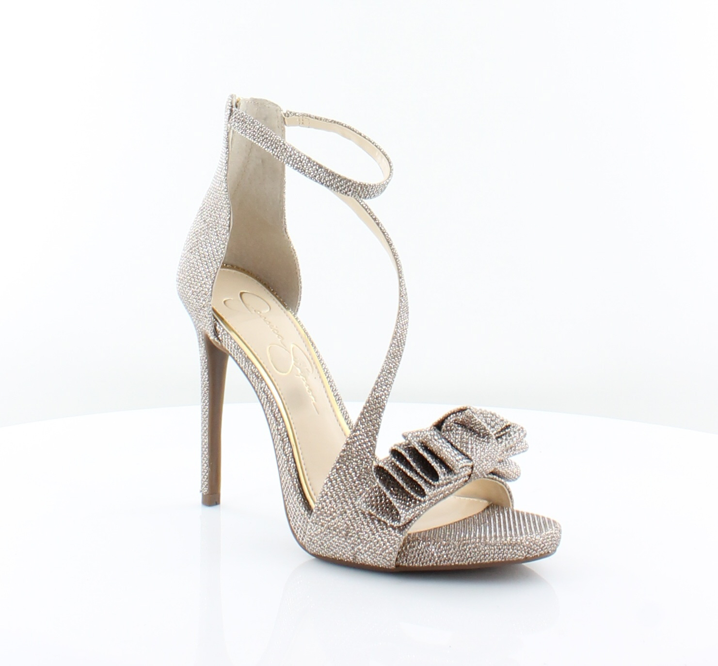 1ced9da3b710 Jessica Simpson New Remyia Gold Womens Shoes Size 6.5 M Heels MSRP ...