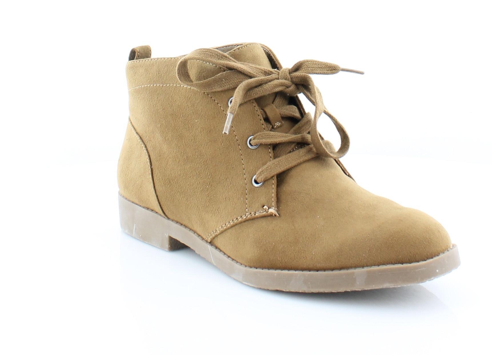 Nasty Gal Dark Star Ankle Boots Black Suedette MM1 Women's Size 7