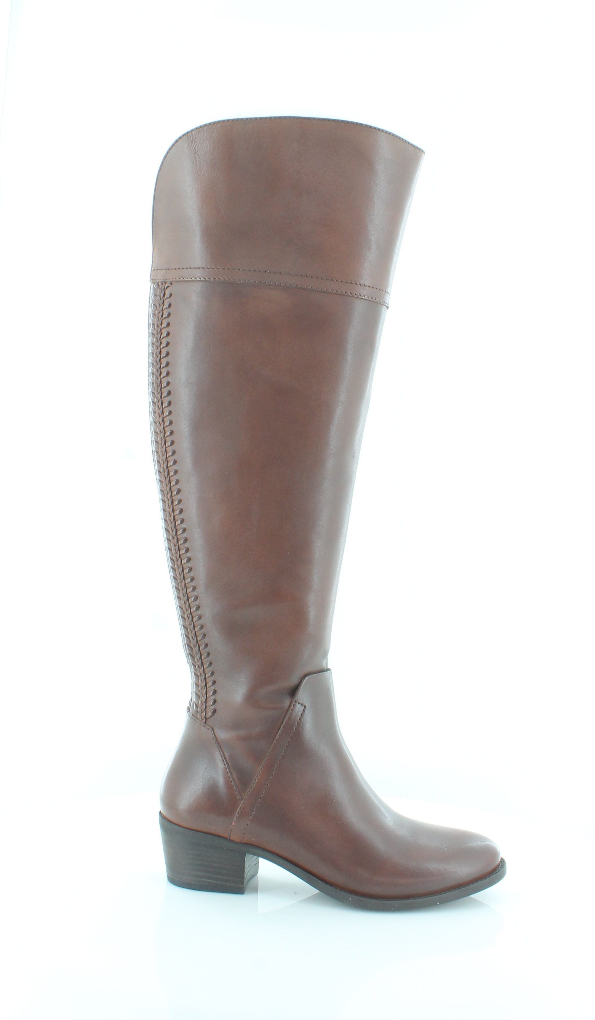 2fca8200b636 Vince Camuto New Brenda Riding Boot Brown Womens Shoes Size 7 M Boots MSRP   198